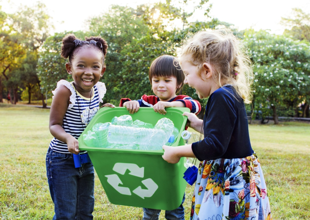 Right now, children are taught about recycling fairly often, but not as often about conservation. How do we change the focus from recycling resources to using less of them altogether?